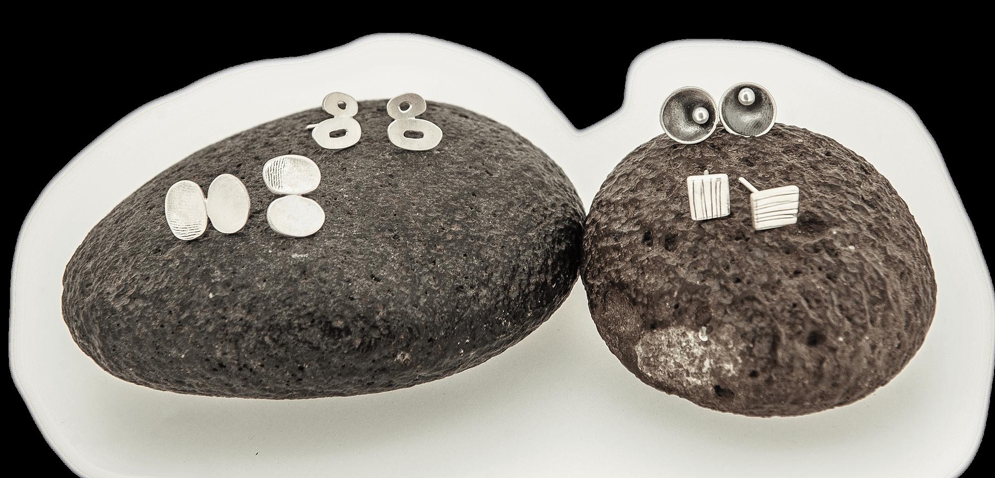 pendientes plata artesanía gipuzkoa ziku